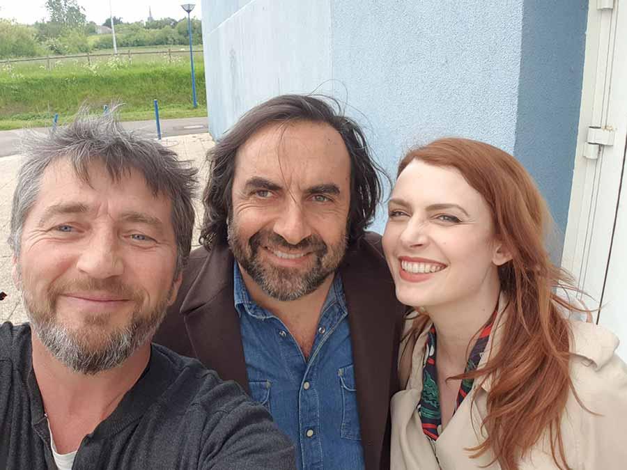 Elodie Frégé et André Manoukian
